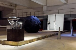 installation view - from left: Karsten Konrad, Johannes Vogl, Stella Geppert, Jeroen Jacobs